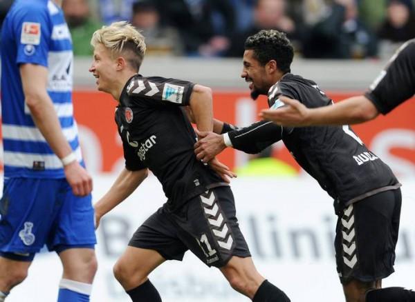 Duisburg-St. Pauli 0-2 b