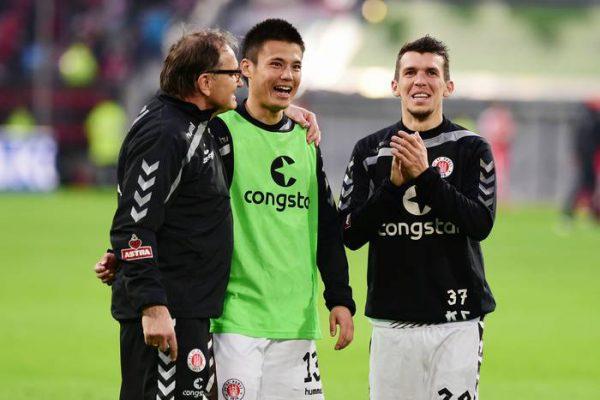 Fortuna Dusseldorf-St. Pauli 1-1 b