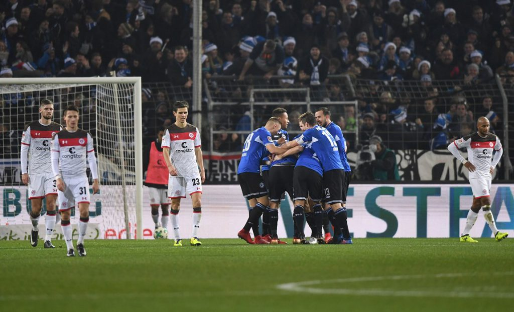 Crisi St. Pauli. A Bielefeld finisce 5-0